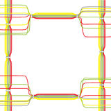 Vecteur des câbles de couleur Photographie stock