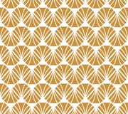 Vecteur Diamond Art Nouveau Seamless Pattern Texture décorative géométrique de feuilles Rétro fond élégant illustration libre de droits