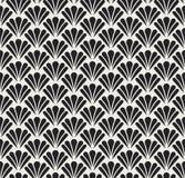 Vecteur Diamond Art Nouveau Seamless Pattern Texture décorative géométrique de fleur Rétro fond élégant Images stock