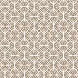 Vecteur Diamond Art Nouveau Seamless Pattern Texture décorative géométrique de fleur Rétro fond élégant Photos stock