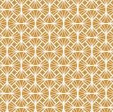 Vecteur Diamond Art Nouveau Seamless Pattern Texture décorative géométrique de fleur Rétro fond élégant Photos libres de droits