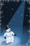 vecteur drôle de bonhomme de neige d'illustration illustration de vecteur