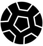 Vecteur du football qui peut être facilement modifié ou édité illustration de vecteur