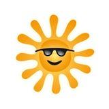 vecteur du soleil illustration stock