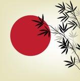 Vecteur en bambou illustration de vecteur