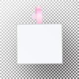 Vecteur en plastique de Wobbler de la publicité Calibre de prix à payer de Papper Photographie stock libre de droits