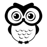 Vecteur ENV tir? par la main, vecteur, ENV, logo, ic?ne, illustration de hibou de silhouette par des crafteroks pour diff?rents u illustration de vecteur