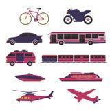Vecteur et icône de transport illustration de vecteur