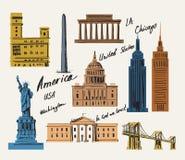 Vecteur Etats-Unis illustration de vecteur