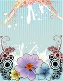Vecteur floral Image stock