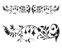 Vecteur floral de la Renaissance illustration stock