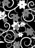 Vecteur foncé de texture de fleur Photographie stock libre de droits