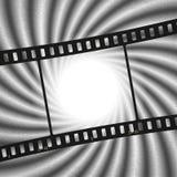 Vecteur : Fond de cru avec le fond de lumière de flamme de film illustration de vecteur