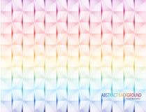Vecteur géométrique coloré de texture Photos libres de droits