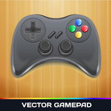 Vecteur Gamepad Photo stock