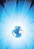 vecteur global d'affaires Images stock