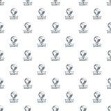 Vecteur global de modèle de protection des données sans couture Photos stock