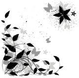 vecteur grunge floral de fond Image libre de droits