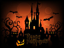 Vecteur heureux de fond de Halloween illustration stock