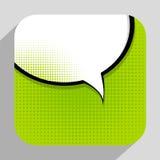 Vecteur Illust d'Art Background On Dot Background de bruit de bulle de la parole illustration libre de droits
