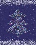 vecteur impeccable de Noël Photos libres de droits