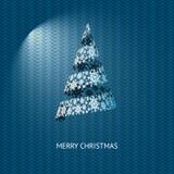 vecteur inclus d'arbre de Noël eps8 Photo stock