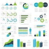 Vecteur infographic d'éléments de Web Photo libre de droits