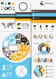 Vecteur Infographics Images libres de droits