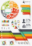 Vecteur Infographics Image stock