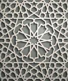 Vecteur islamique d'ornement, motiff persan éléments ronds islamiques de modèle de 3d Ramadan Ornamental circulaire géométrique Images stock