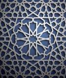 Vecteur islamique d'ornement, motiff persan éléments ronds islamiques de modèle de 3d Ramadan Ornamental circulaire géométrique Images libres de droits