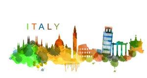 Vecteur Italie illustration libre de droits