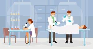Vecteur légal de médecins experts illustration stock