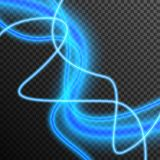 Vecteur ?lectrique de allumage au n?on d'?tincelle de lueur de tonnerre transparent illustration de vecteur