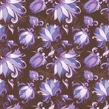 Vecteur Lily Floral Pattern Photos stock