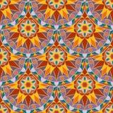 Vecteur Mandala Pattern florale sans couture Photographie stock libre de droits