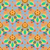 Vecteur Mandala Pattern florale sans couture Photos libres de droits