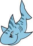 Vecteur mesquin de requin Images libres de droits