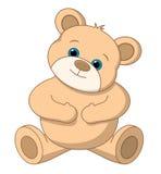 Vecteur mignon d'ours de nounours illustration de vecteur