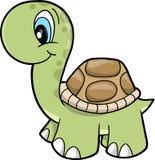 vecteur mignon de tortue de safari d'illustration