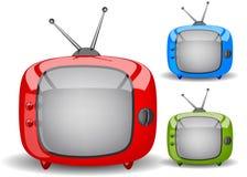 Vecteur mignon de TV Photographie stock