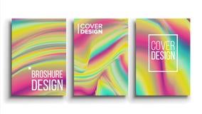 Vecteur minimal de conception de couvertures Fond d'olographie Affiche, carte, illustration de conception de mode illustration de vecteur