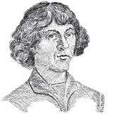 Vecteur - Nicolaus Copernicus Photos libres de droits