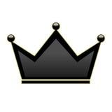 Vecteur noir de couronne illustration de vecteur
