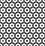 Vecteur noir et blanc de modèle de répétition et fond d'image sans couture photo stock