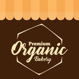 Vecteur organique de la meilleure qualité de polygone de boulangerie Photos libres de droits
