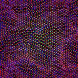 vecteur posé futuriste de technologie de fond abstrait Images stock