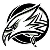 Vecteur principal d'aigle Image libre de droits