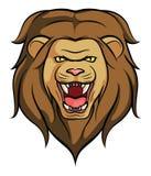 vecteur principal de lion illustration stock