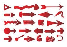 Vecteur réglé de flèche illustration stock